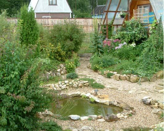 Дом, сад и пруд в саду.... - фото 17