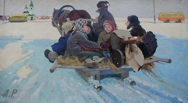 картины художника Андрея Репникова