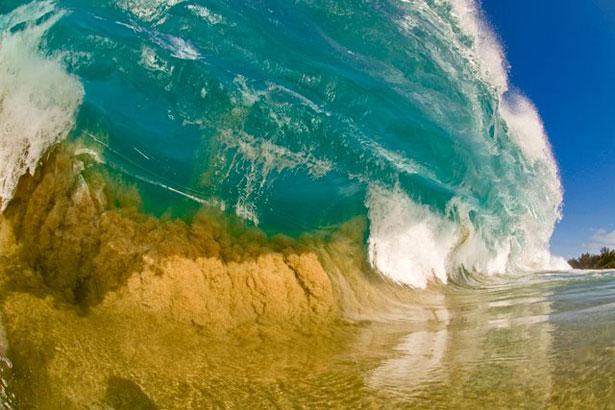 сказочная красота волн