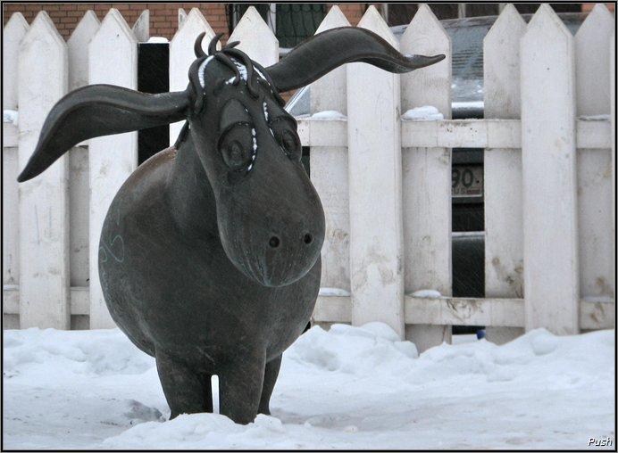 Памятник ослику Иа-иа (Раменское, г. Москва)