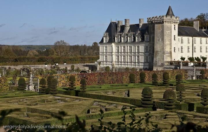 Сад-огород замка Вилландри (Villandry)