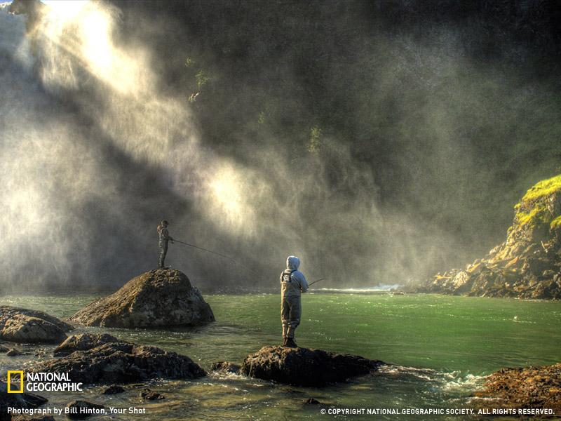 Водопад Snoqualmie Falls