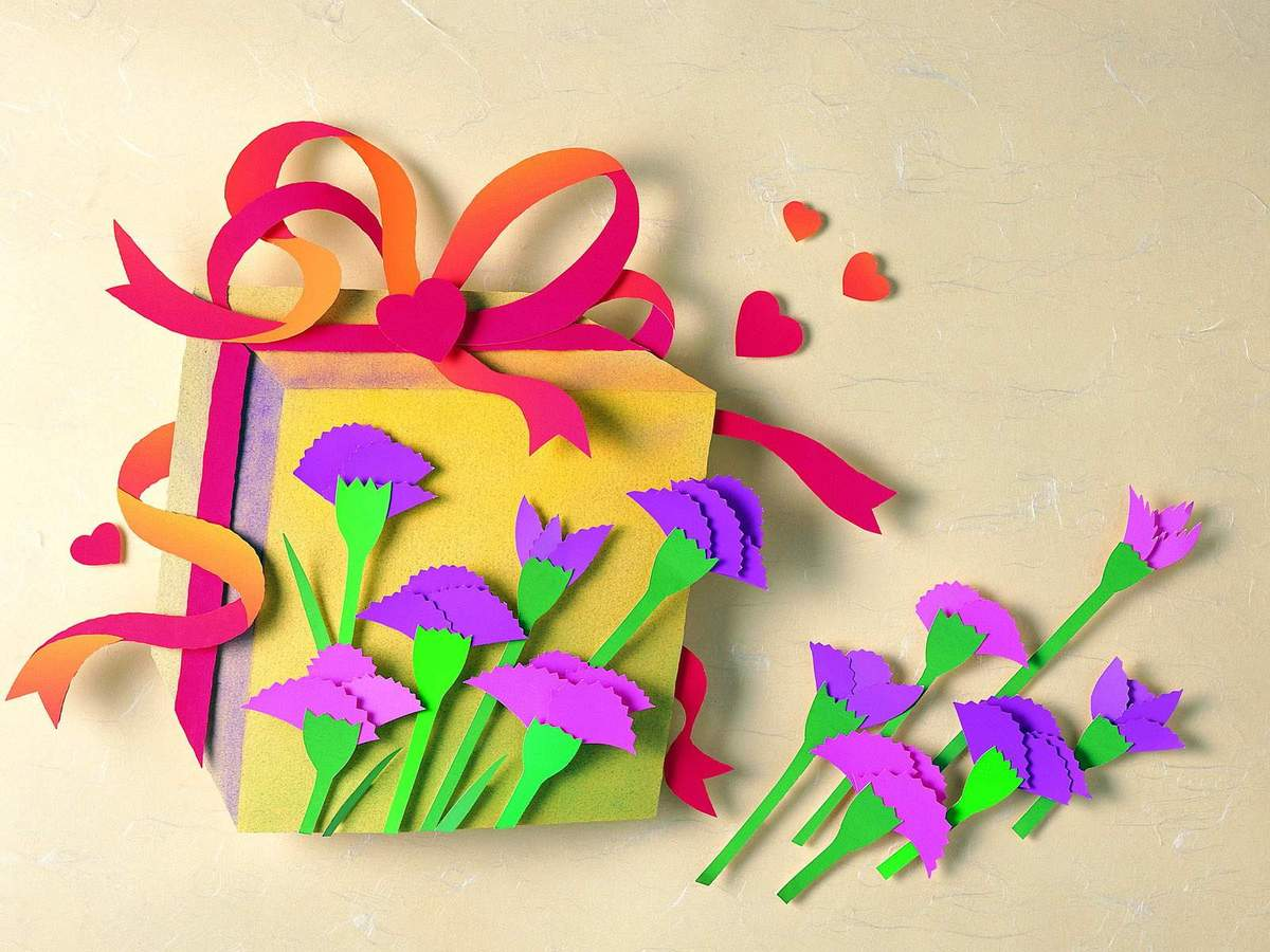 Поделки из картона или цветной бумаги 15