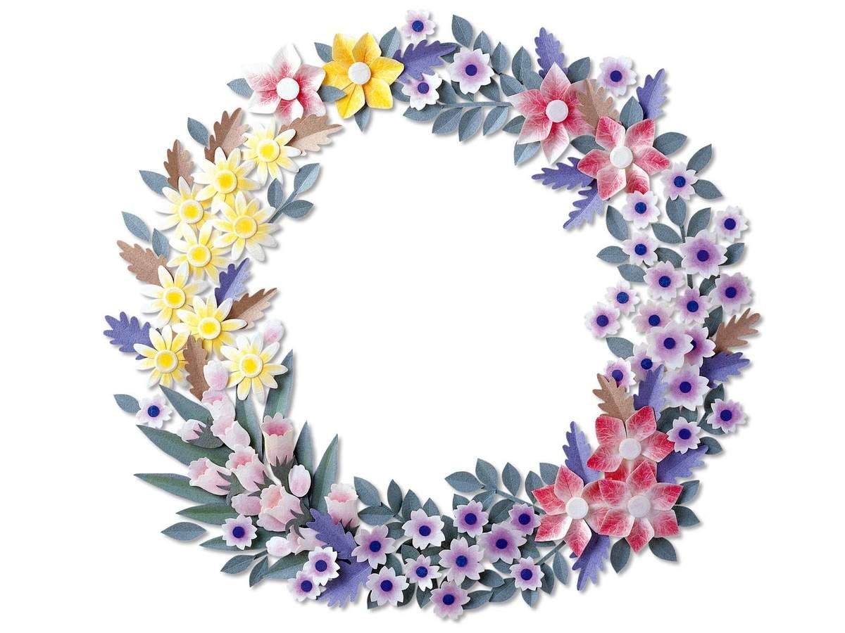 Как сделать объемную композицию из цветов