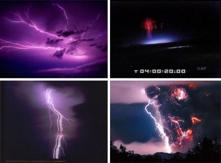 Какие бывают виды молний?