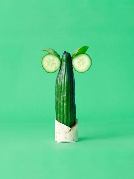 Шведский фотограф Carl Kleiner и его овощные персонажи