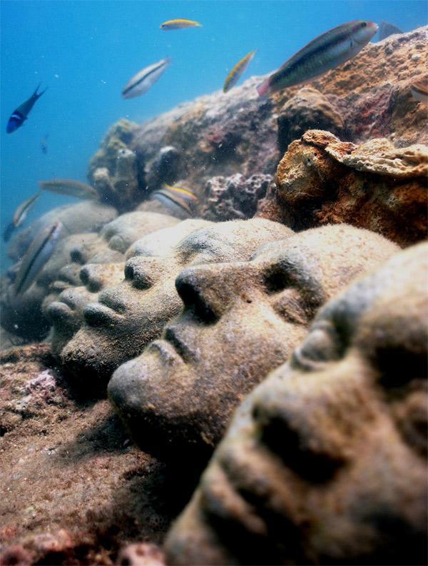 Подводный парк скульптур Джейсона Тейлора.