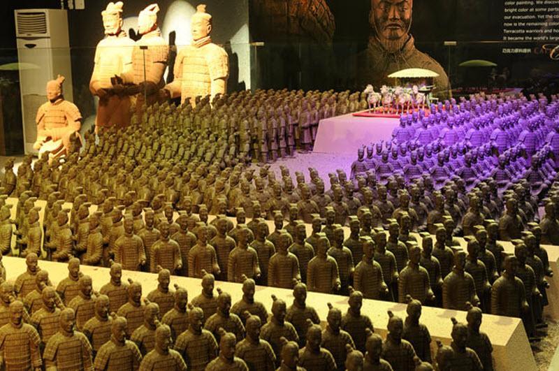 Шоколадный парк в Пекине