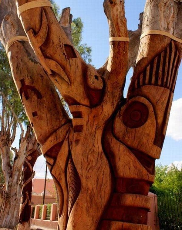 знакомые скульптуры из дерева в электростали