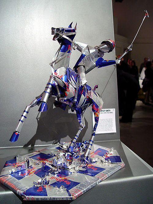 Сделать из алюминиевой банки