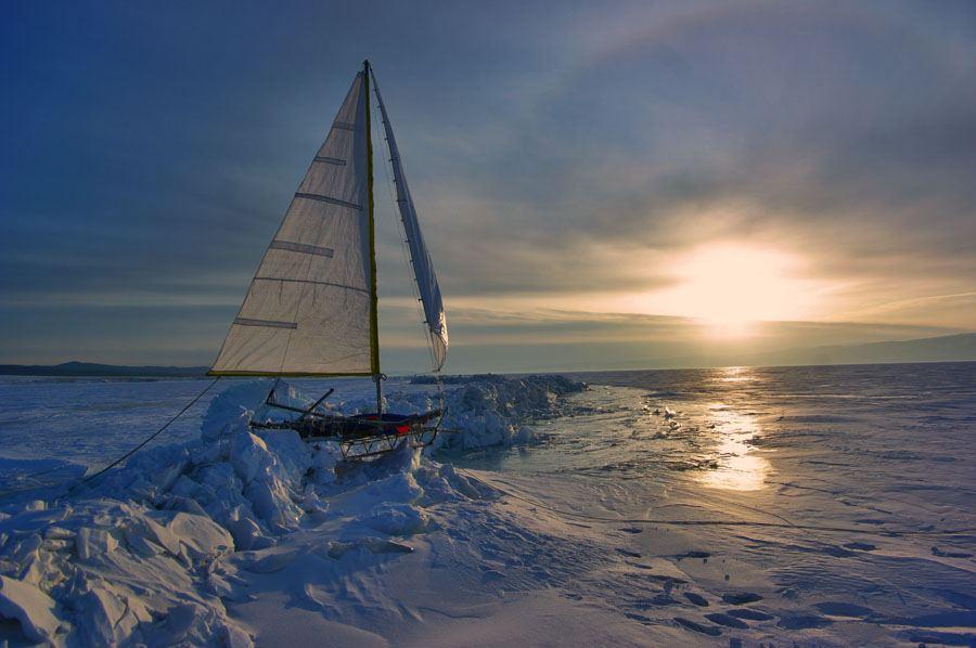 Байкал. Вода, лёд, водопады