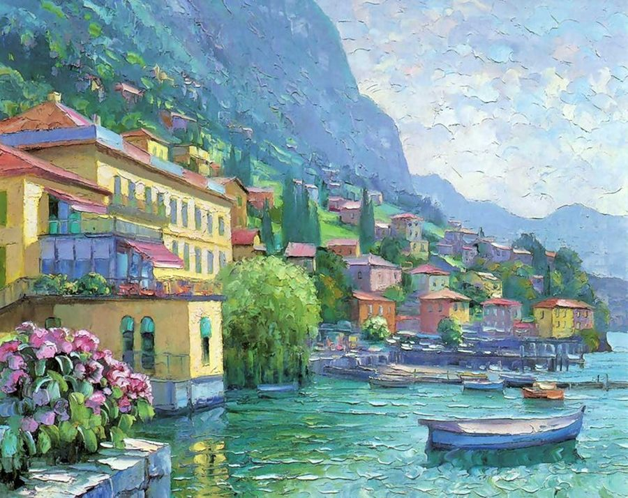Говард Берен, живопись