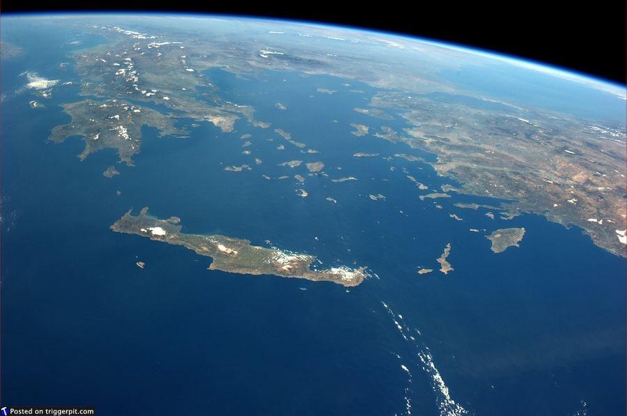 Живая Планета с высоты 380 километров