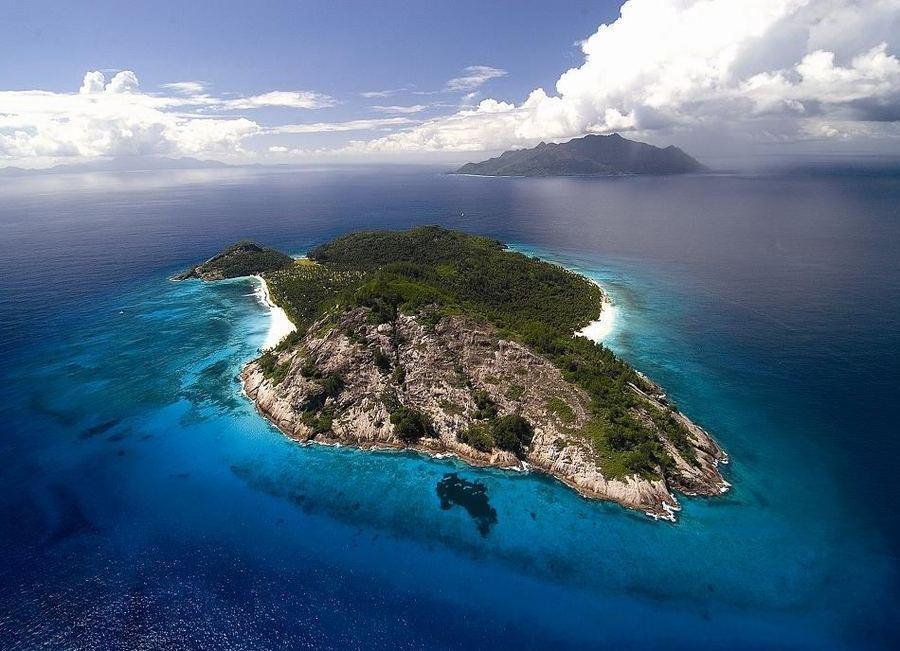 Частное владение North Island на Сейшельских островах