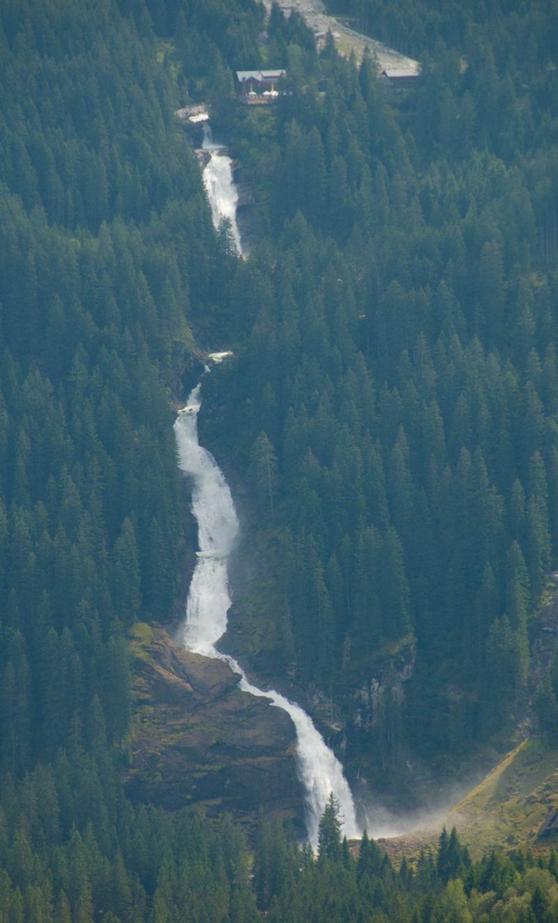 Криммльский водопад (Krimml Falls) cамый высокий в европе