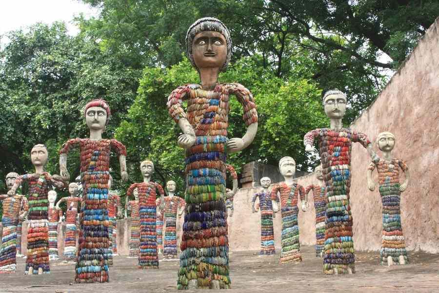 Сад Камней в Чандигархе (The Rock Garden of Chandigarh)