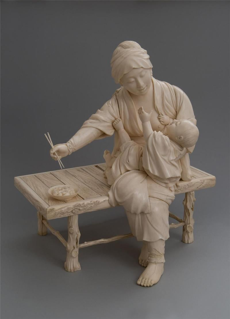 Окимоно - японское декоративно-прикладное искусство