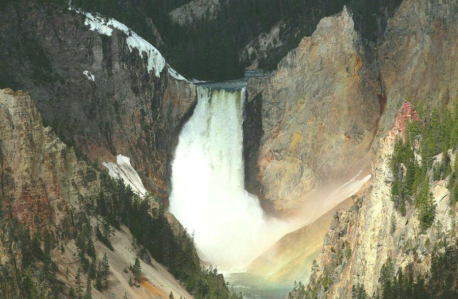 Йеллоустоунский национальный парк США