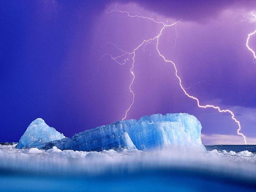 Ледяная красота айсбергов