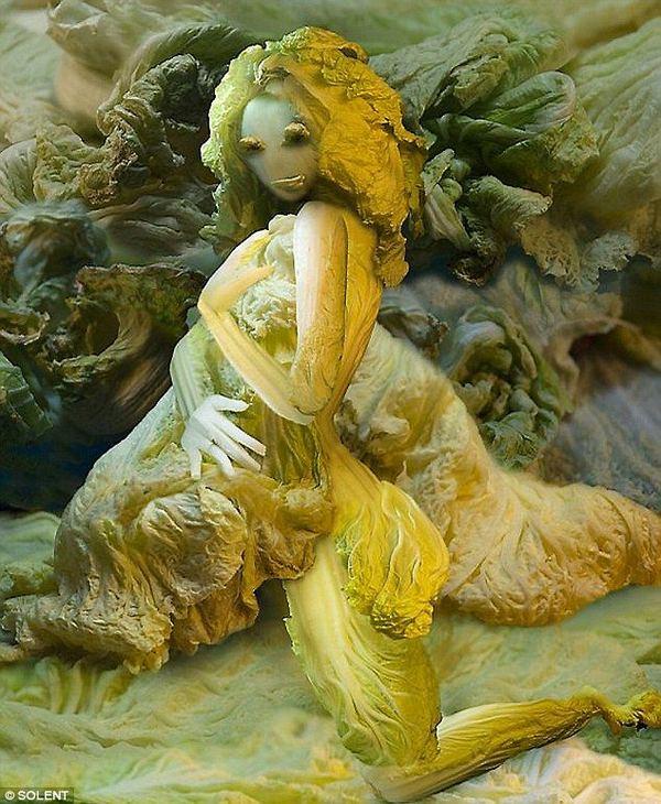 Фантазии из китайской капусты от Йю Дуочи