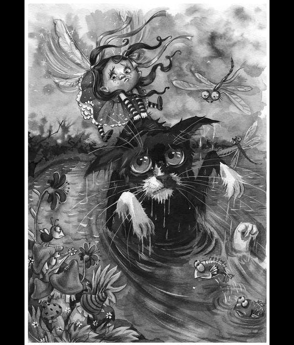 Зверушки от художника иллюстратора