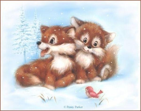 """""""Лисёнок """", - сказал лисёнок лисёнку, - ты помни, пожалуйста, что если тебе тяжело, плохо, грустно, страшно..."""