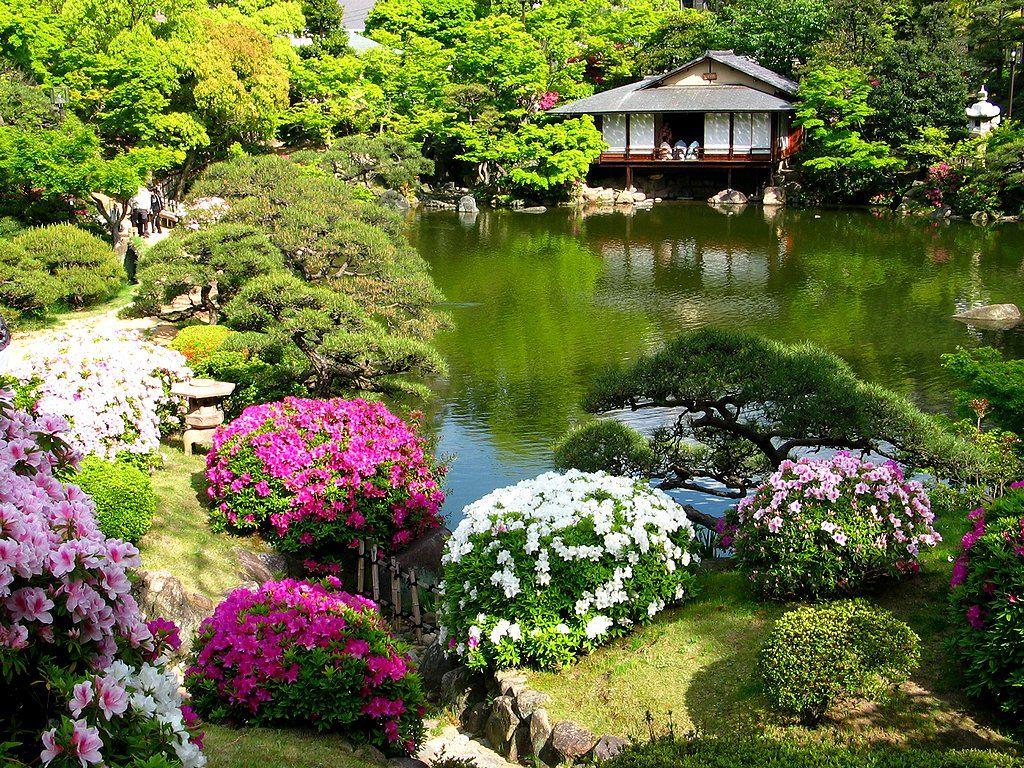 Японский сад как символ совершенства