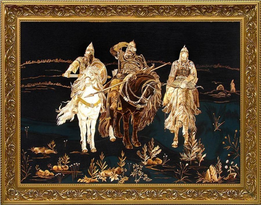 картина 3 богатыря: