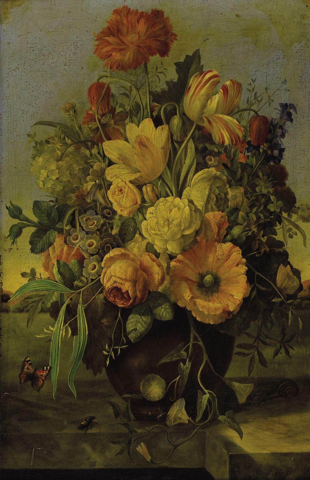 Натюрморты от Franz Xaver Petter