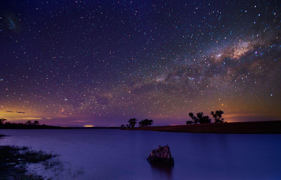 Картинки природы ночное небо