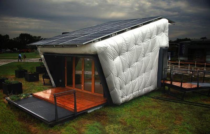 Экологичный ''дом-матрас'' (CHIP House)