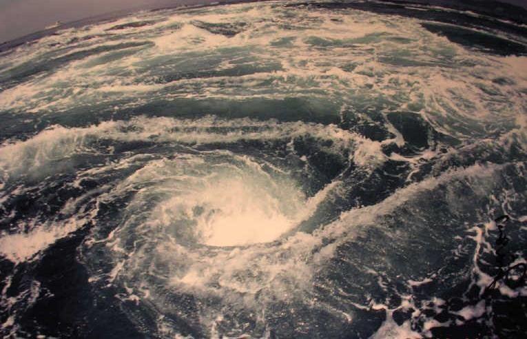 Самые большие и опасные водовороты в мире