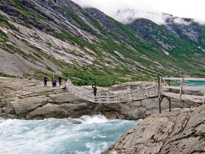 Ледник Нигардсбреен (Nigardsbreen) в Норвегии
