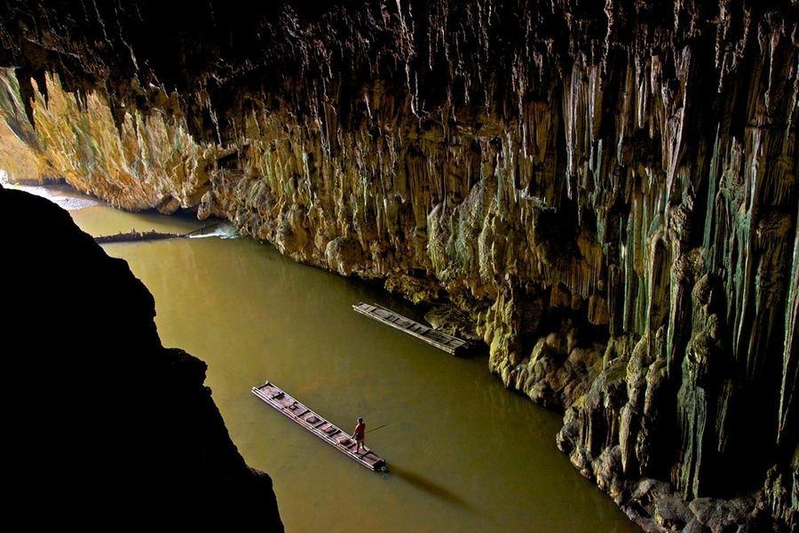 Удивительные пещеры Таиланда