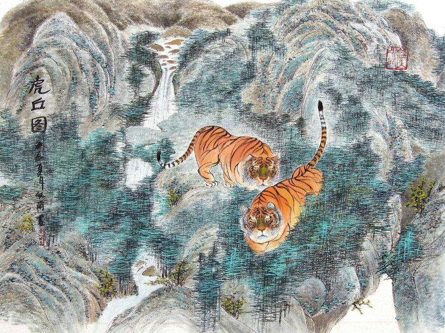 Оригинальная живопись художника Pui Lan Cockman