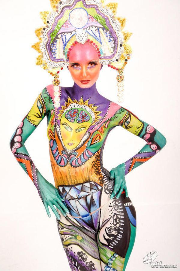 Кстати, с этой работой виктория вошла в десятку лучших визажистов россии в конкурсе makeup art awards
