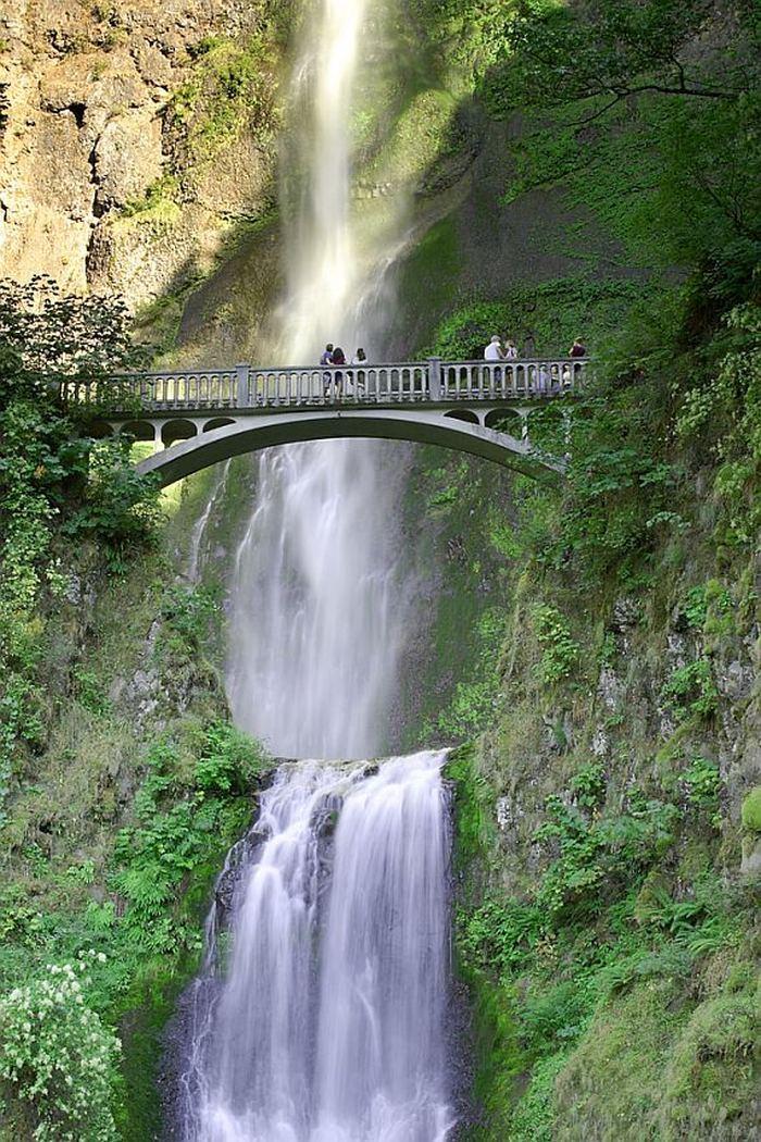 Водопад Малтнома (Multnomah)