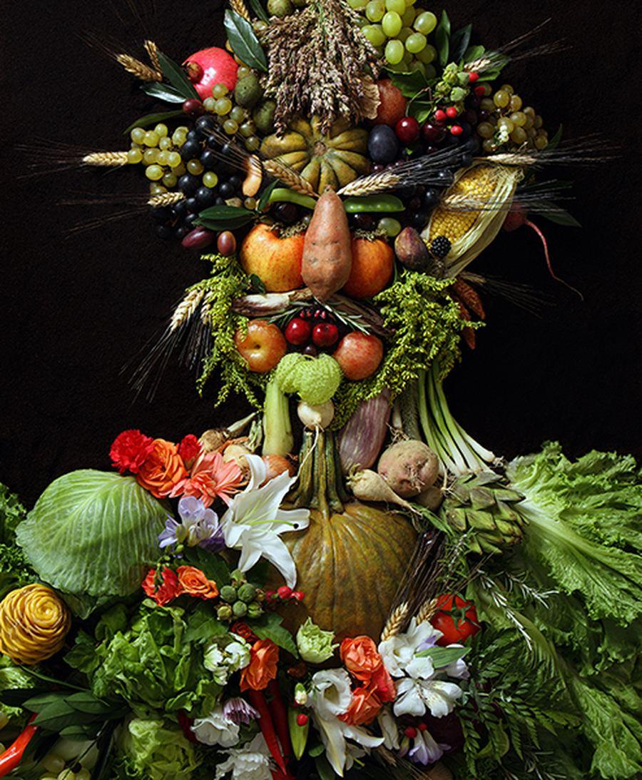 Фруктово-овощной сюрреализм Клауса Энрике