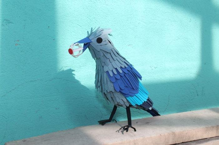Птицы сделать своими руками фото
