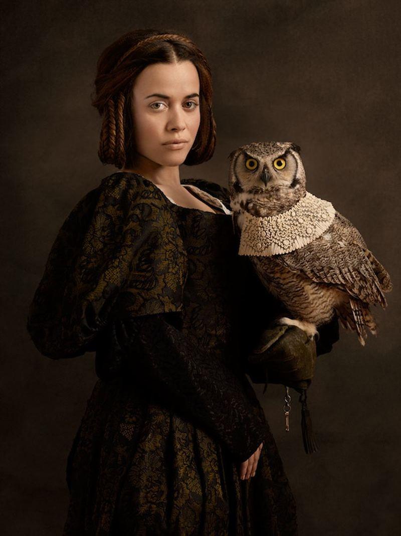 Очаровательные портреты в духе фламандской живописи