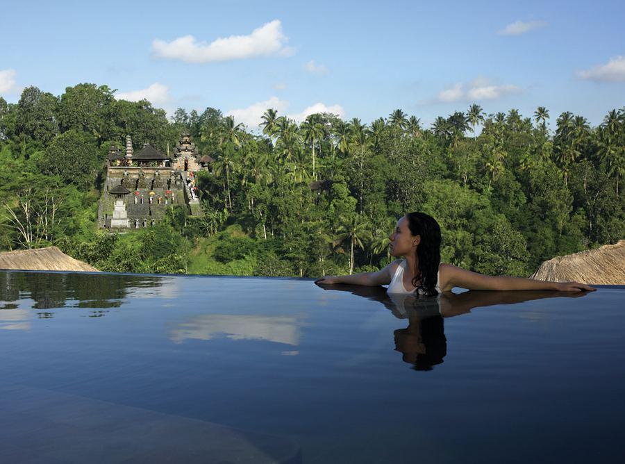 Роскошный бутик-отель Ubud Hanging Gardens на Бали