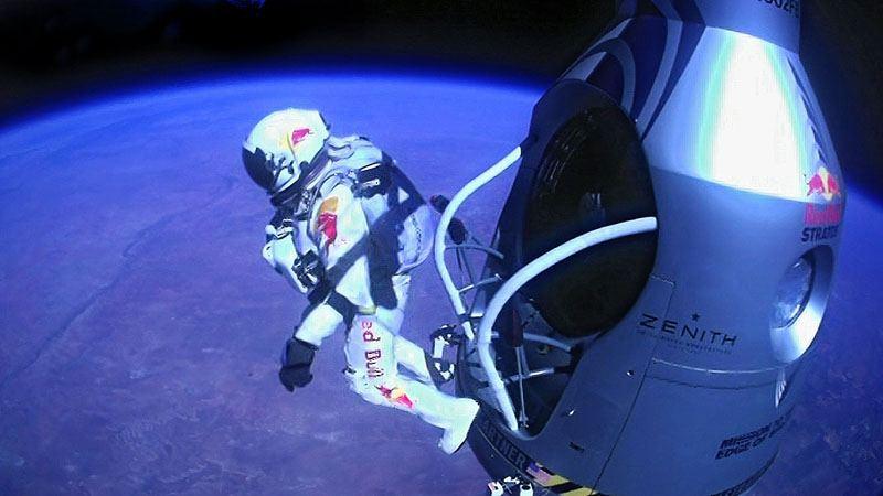 Прыжок из космоса