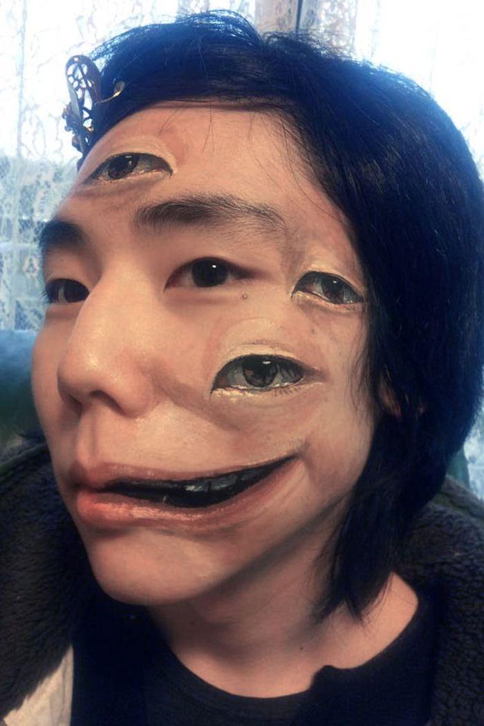 Необычный боди-арт от художницы Чу-Сан