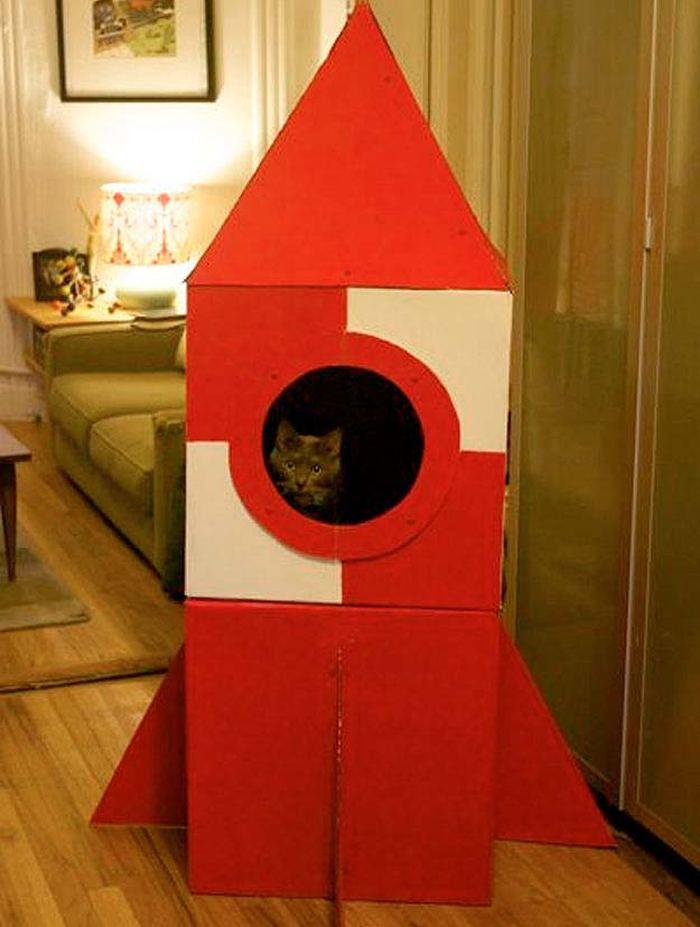 Как сделать большую ракету своими руками из коробок