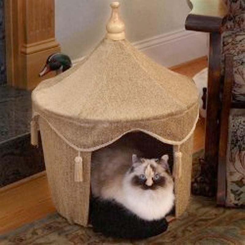 Как своим руками сделать домик для кошки