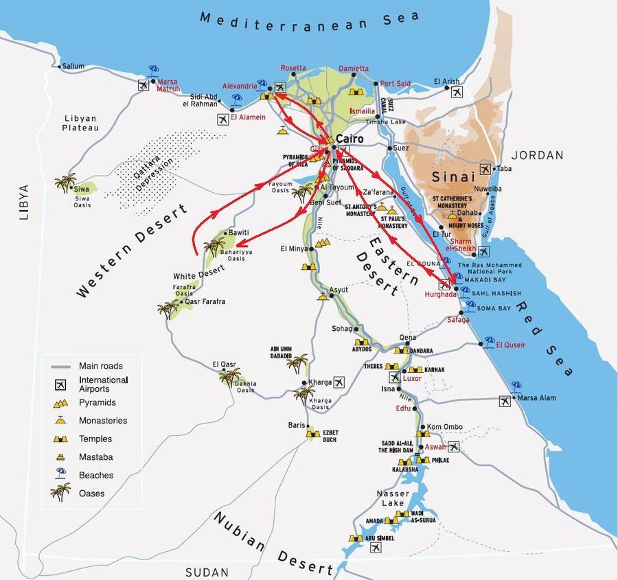 Белая пустыня (White Desert) - национальный парк Египта