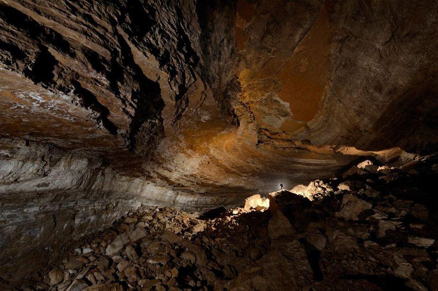 Пещера Гуфр Берже (фр. Gouffre Berger)