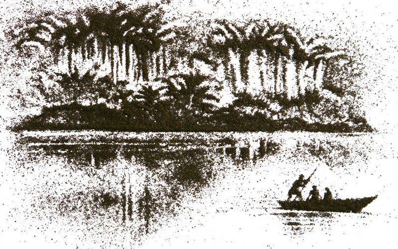 Пейзажи из чая от Андрей Горковенко