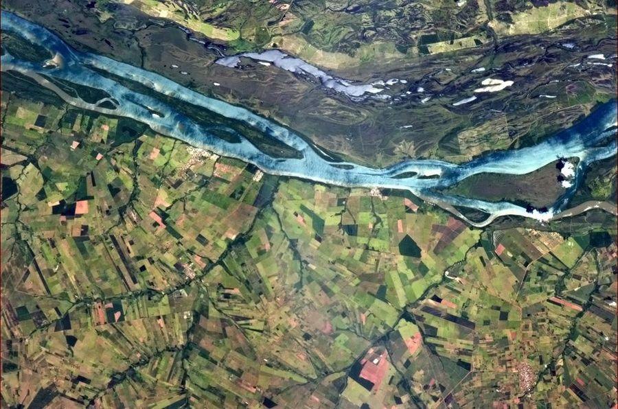 Фотоэпопея Криса Хэдфилда на МКС