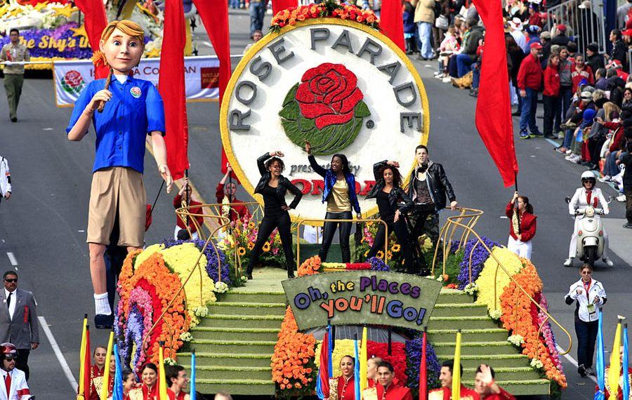 Парад Роз в Пасадене
